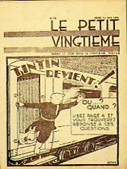 Le_Petit_Vingtieme quadrinhos em bruxelas