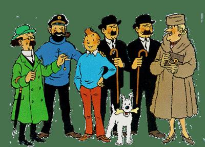 Tintin-herge-quadrinhos-em-bruxelas