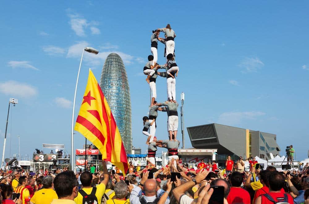 Castellers - Catalunha, Espanha