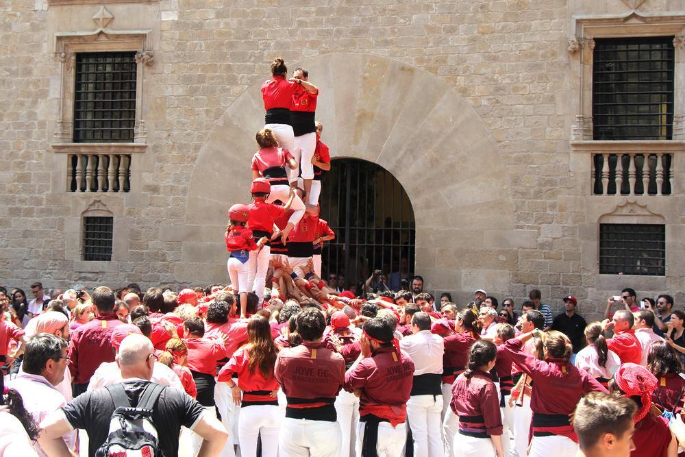 Castellers - Castelos Humanos da Catalunha