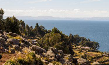 Passeio pela Ilha Taquile, no Lago Titicaca
