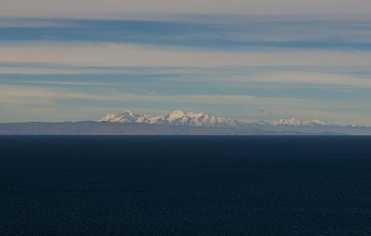 Lago Titicaca, no Peru