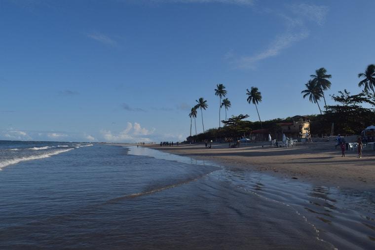 maracaípe tábua das marés cheia pernambuco