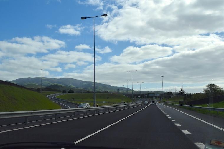 medo de dirigir estrada açores