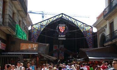 O Mercado de la Boquería, em Barcelona