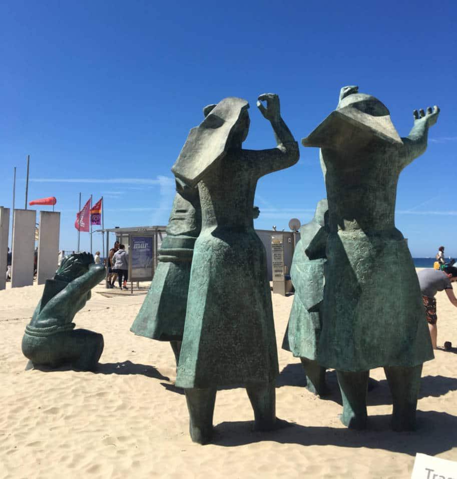 Estatua Tragedia no Mar Matosinhos