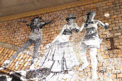 Os murais e a arte de rua em Berlim