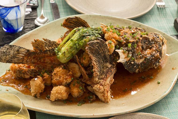 peixe diablo comida peruana