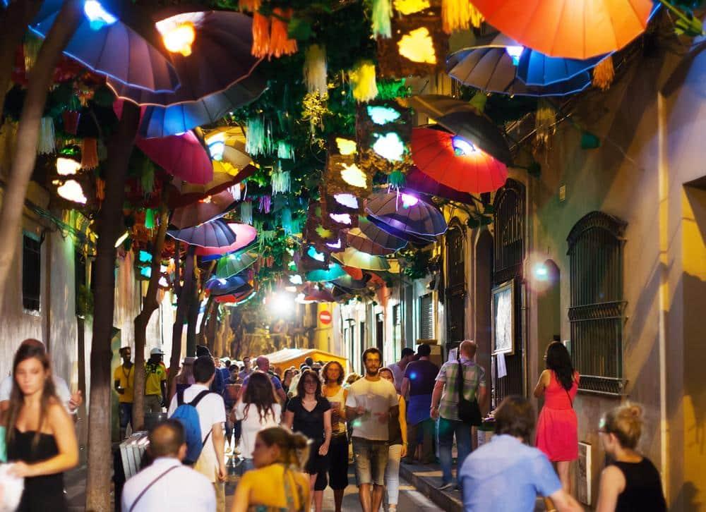 Festas de Grácia em Barcelona