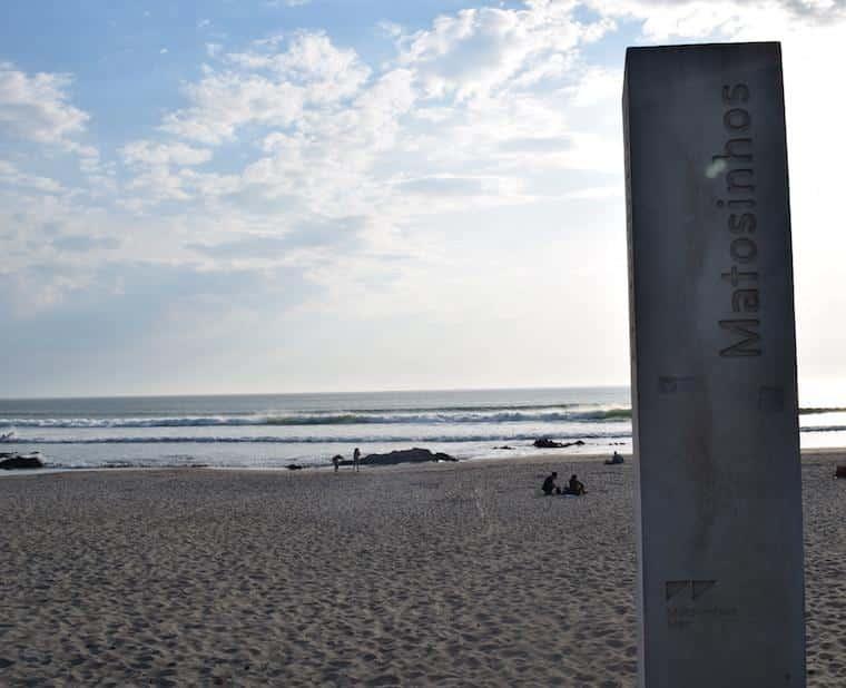 praia de matosinhos passeio foz do douro porto portugal