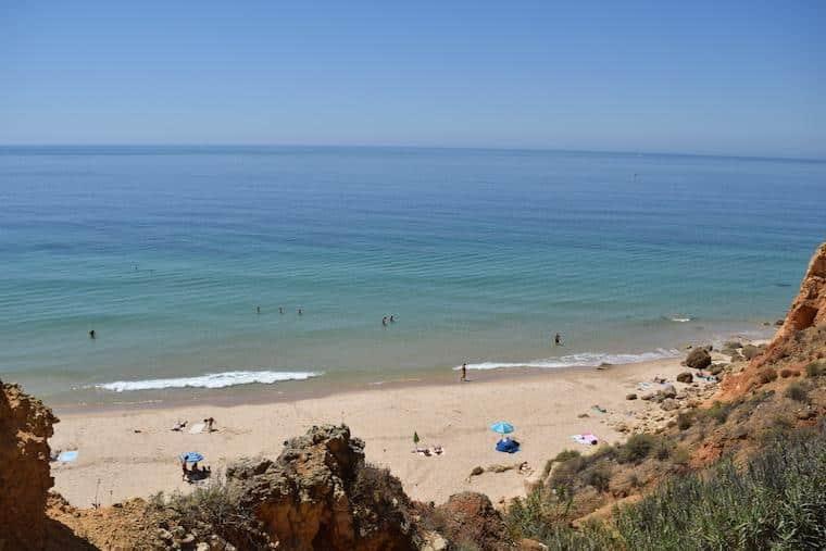 praias do algarve lagos portugal canavial 3