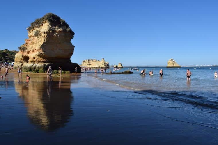 praias do algarve lagos portugal dona ana 3