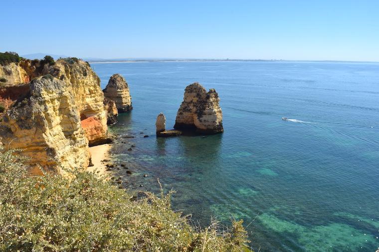praias do algarve lagos portugal ponta da piedade 1