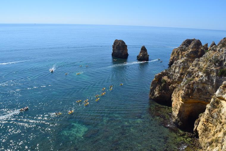praias do algarve lagos portugal ponta da piedade 2