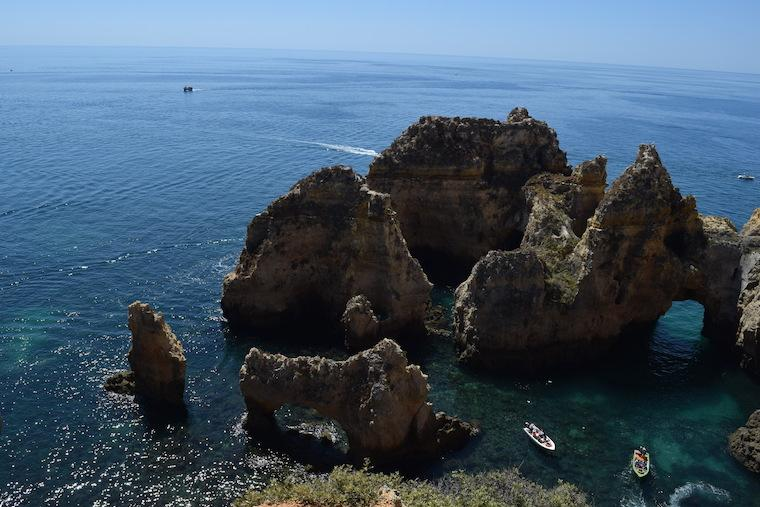 praias do algarve lagos portugal ponta da piedade 3