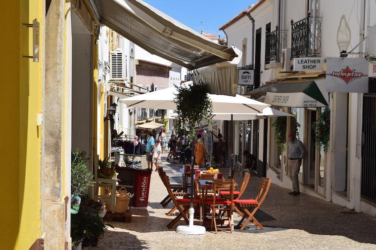 rua lagos algarve portugal
