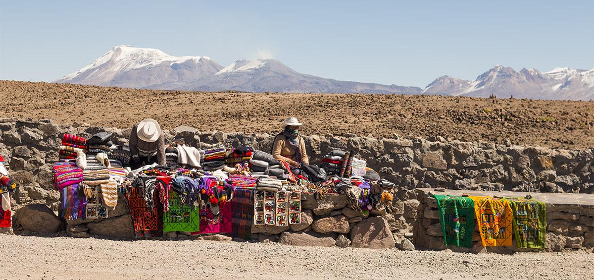 Vale do Colca, no Peru, e um dos cânions mais profundos do planeta