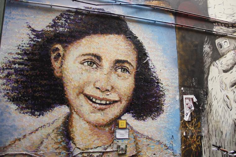 Grafiti de Anne Frank