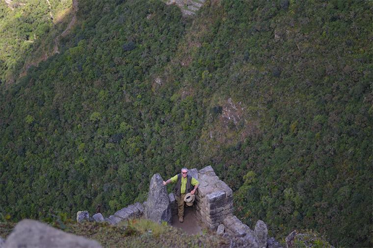 Huayna Picchu, no Peru