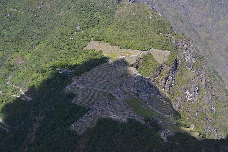 Huayna Picchu, trilha no Peru