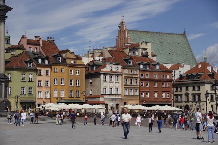 Centro histórico de Varsóvia