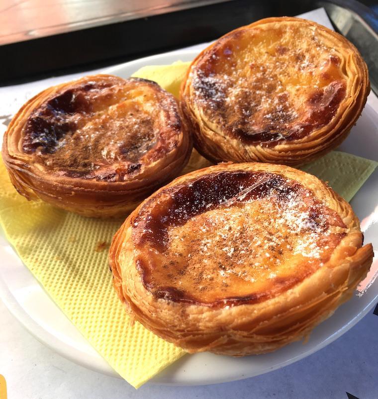 Comidas Portuguesas pastel de nata