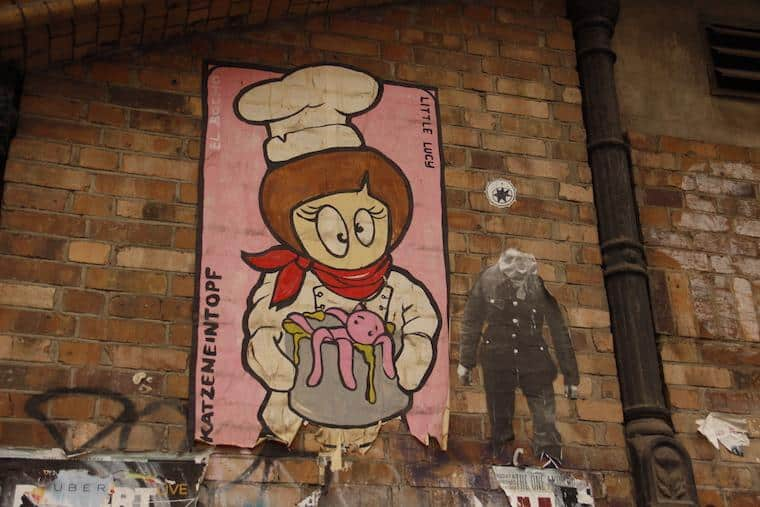 Grafite - Berlim Little Lucy