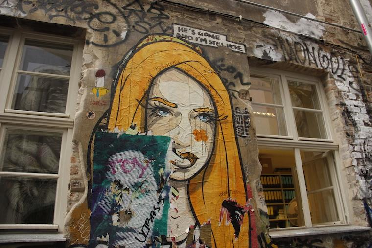 Grafiti em Berlim
