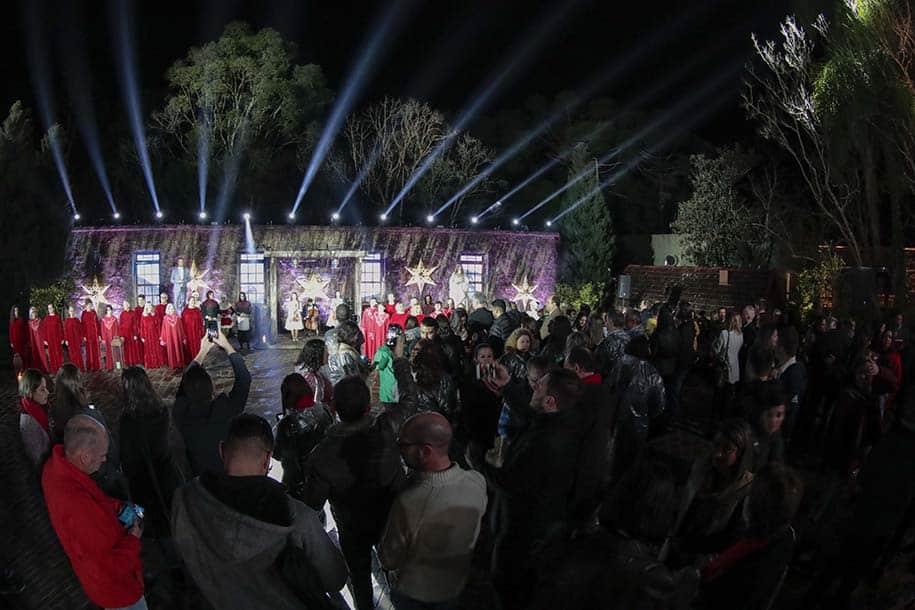 Espetáculo do Natal Luz em 2019 e 2020