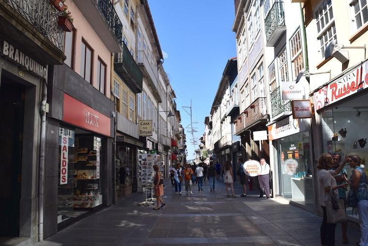 Onde ficar em Braga Portugal Centro histórico