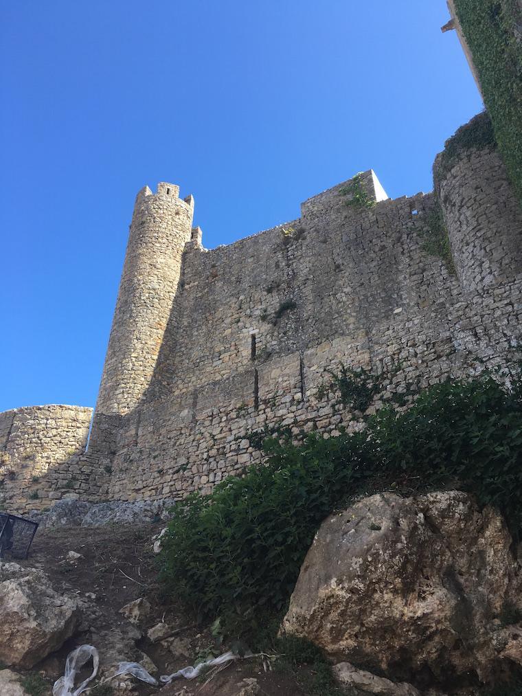 obidos-castelo portugal