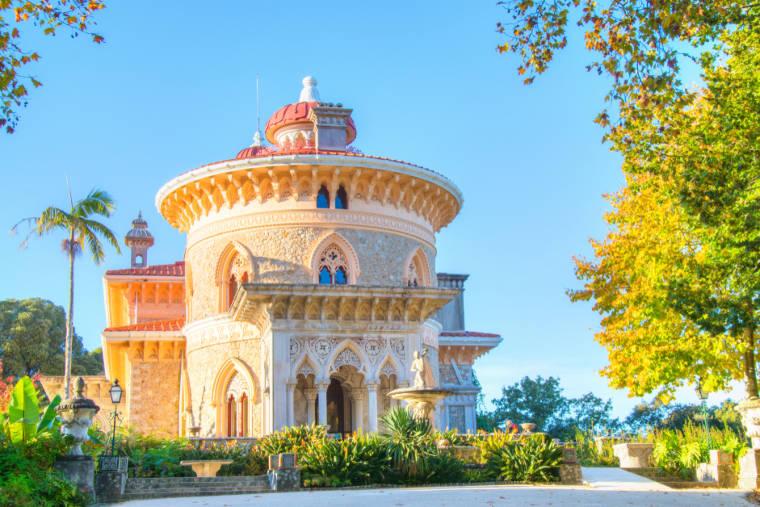 palacio de monteserrat sintra portugal