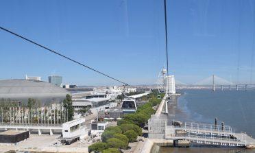 Passeio pelo Parque das Nações, em Lisboa
