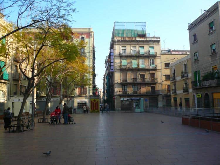 Plaza de la Revolución - Gracia, Barcelona