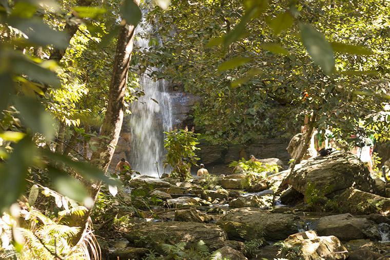 Cachoeira Santa Bárbara, Góias