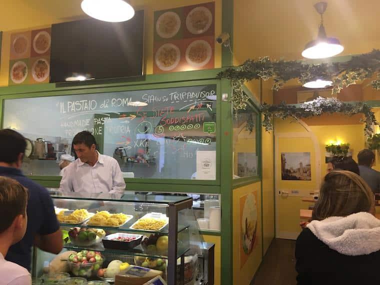 onde comer em roma massa fresca barata