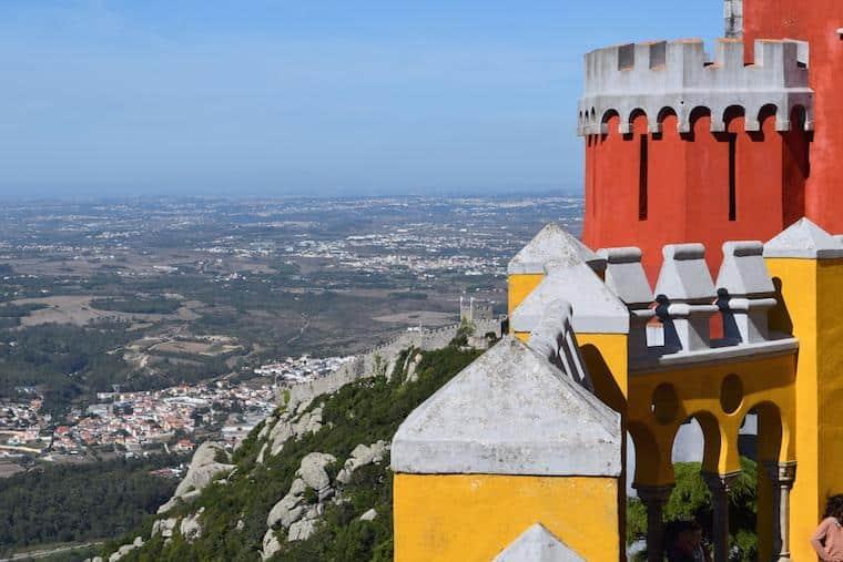 onde ficar em sintra portugal palácio da pena