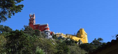 Visita ao Palácio da Pena, em Sintra