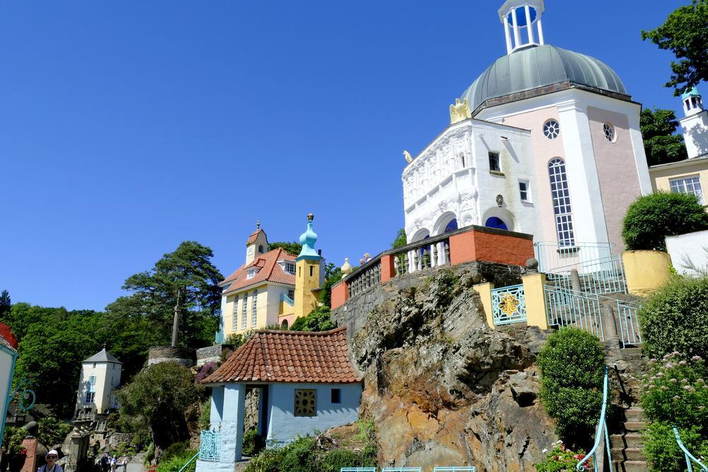 Portmeirion, uma vila mediterrânea no País de Gales