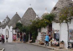 Alberobello e as casas Trulli no sul da Itália