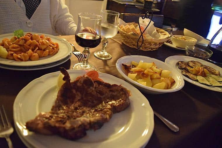 Alberobello casas Trulli onde comer