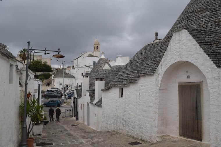 Alberobello e as casas Trulli riones
