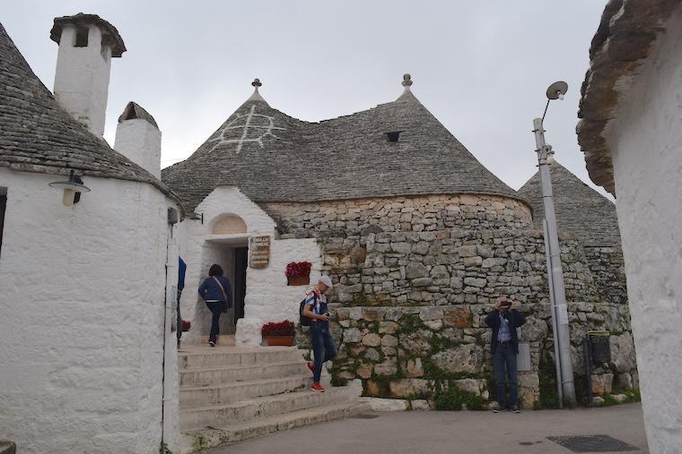 Alberobello e as casas Trulli trullo siamese