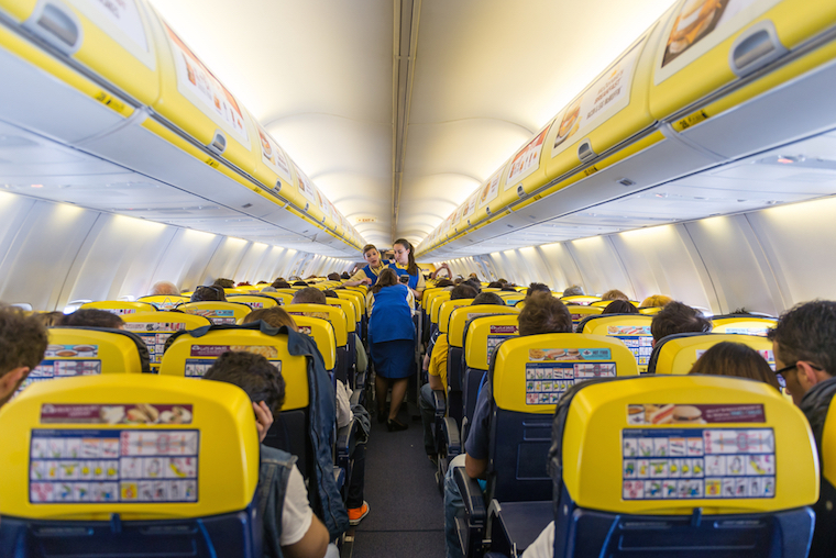 Companhia aérea low cost ryanair