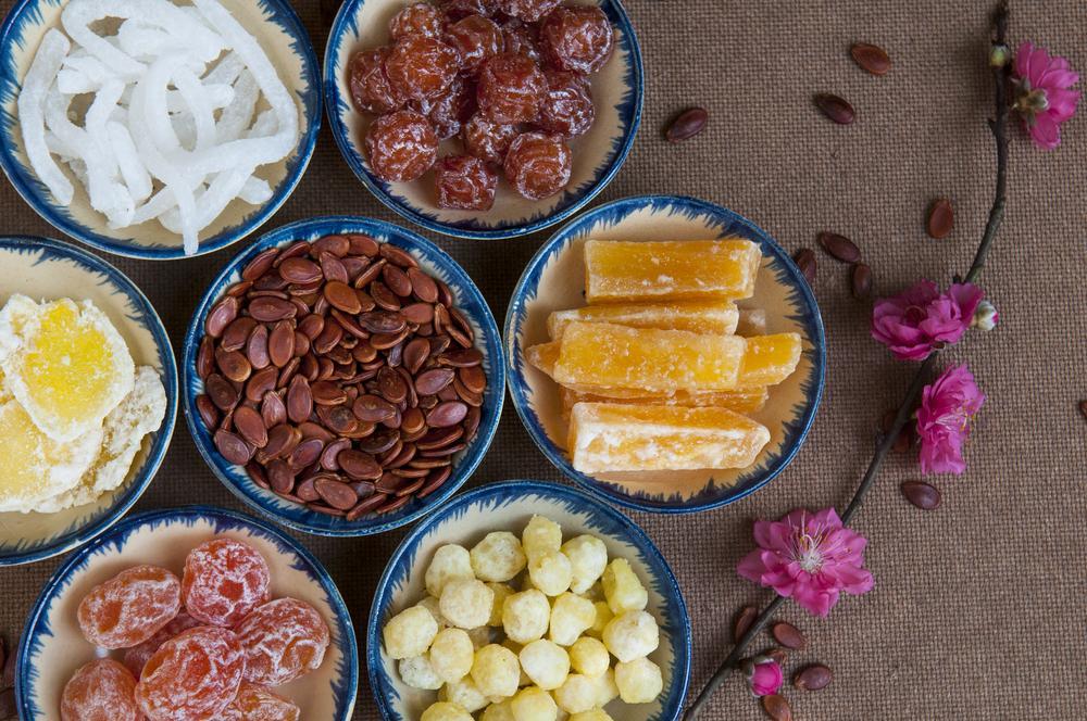 Comidas de ano novo Vietnamita