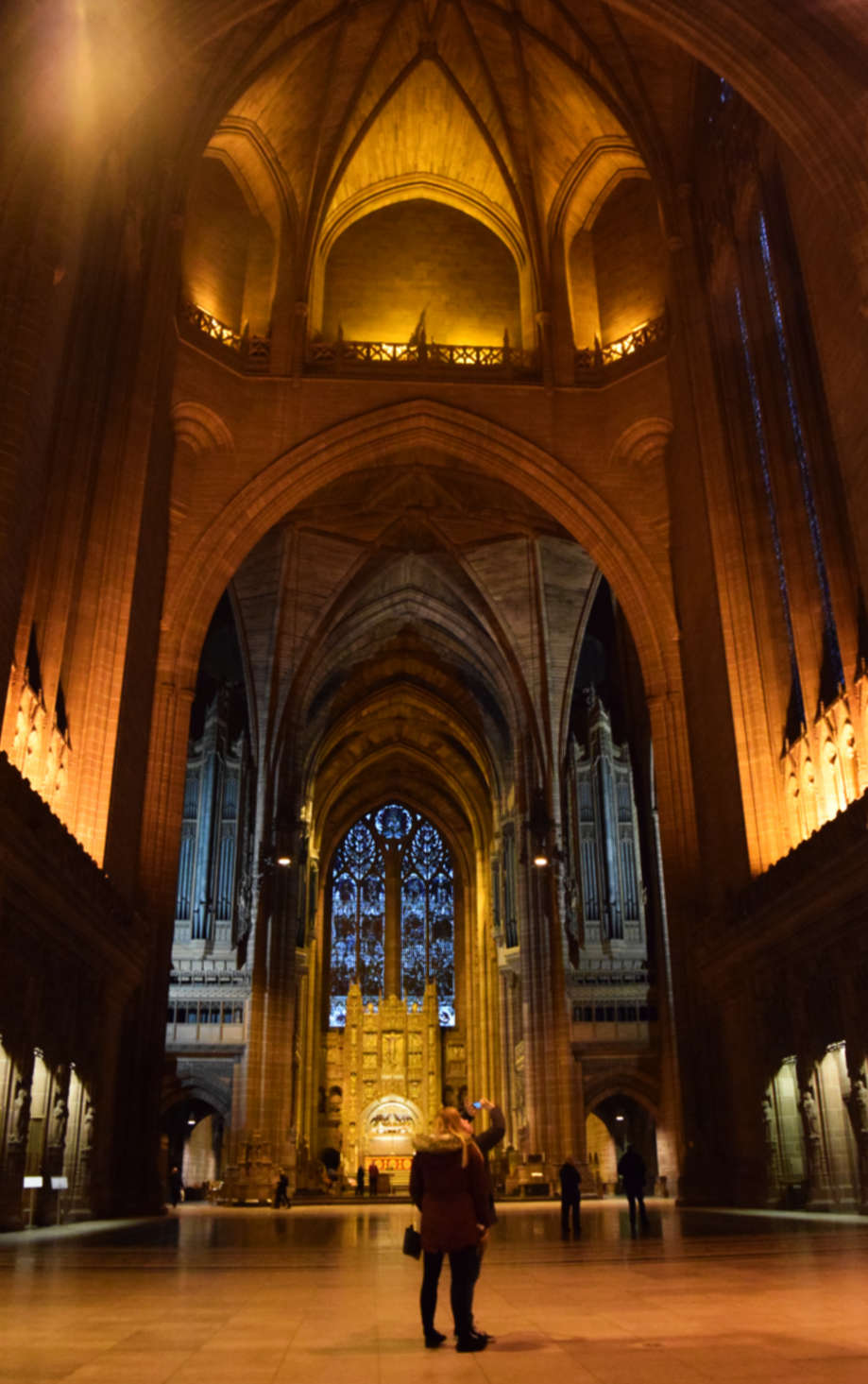 catedral de liverpool por dentro