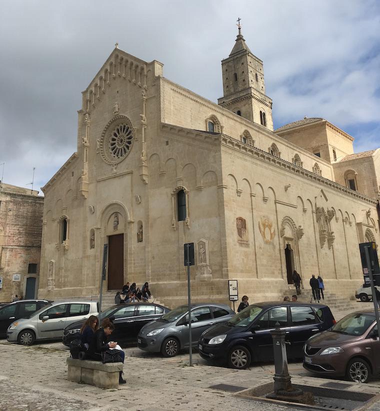 matera italia sassi catedral