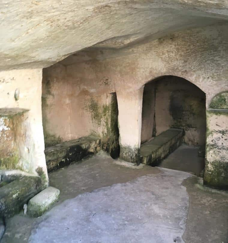 matera italia sassi caverna por dentro