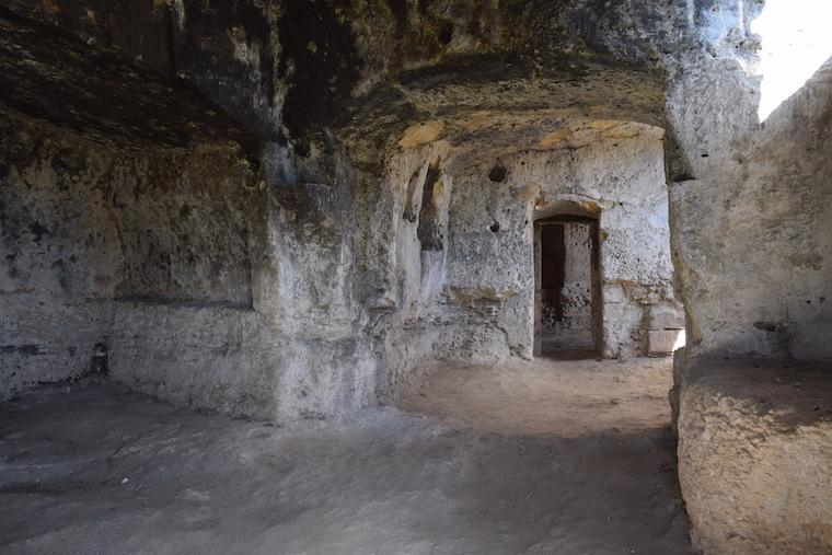 matera italia sassi caverna