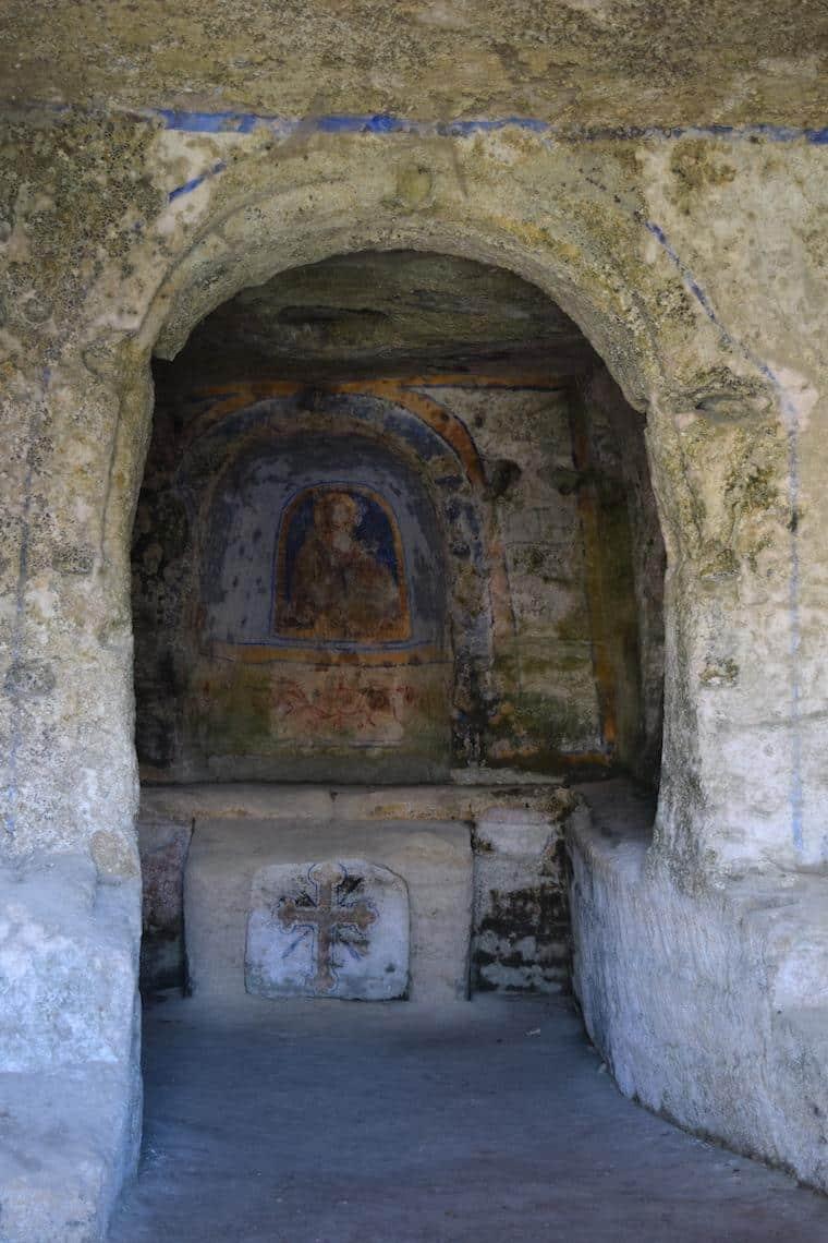 matera italia sassi gruta igreja